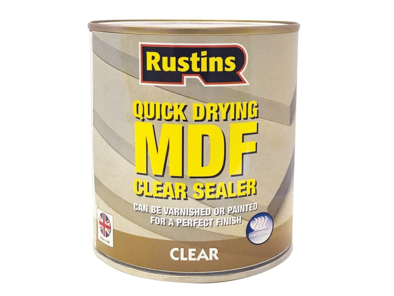 Quick Drying MDF Sealer Clear 1 Litre