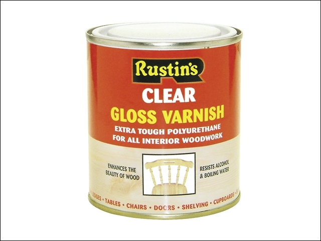 Polyurethane Varnish Gloss Clear 250ml