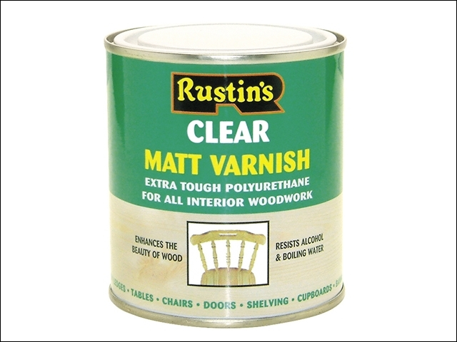 Polyurethane Varnish Matt Clear 1 Litre