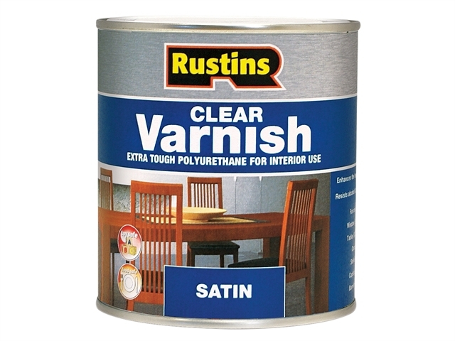 Polyurethane Varnish Satin Clear 1 Litre