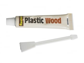 Plastic Wood Tube Natural 20g