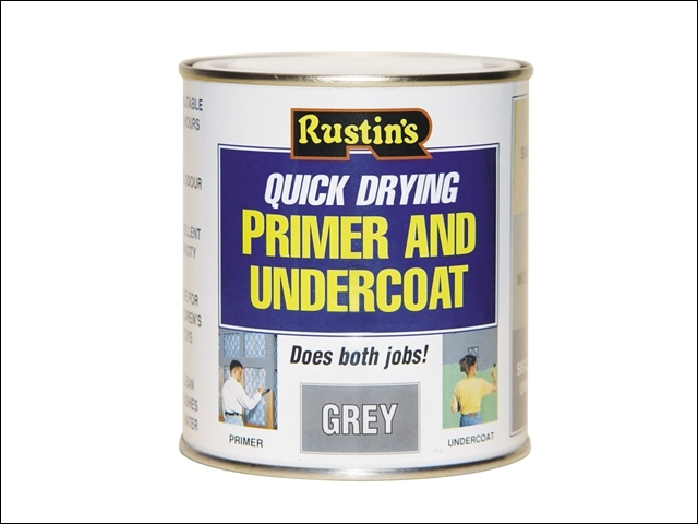 Quick Dry Primer & Undercoat Grey 1 Litre