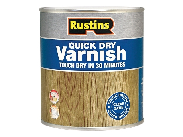 Quick Dry Varnish Satin Clear 250ml