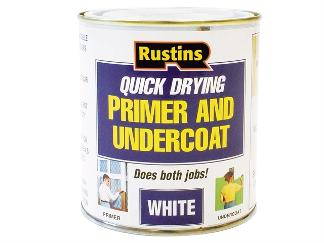 Quick Dry Primer & Undercoat White 250ml