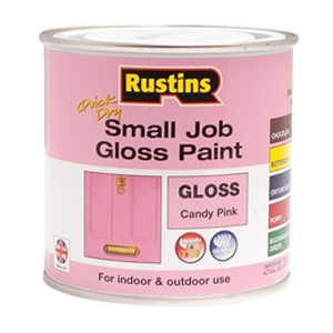 Quick Dry Small Job Gloss Paint Candy Pink 250ml