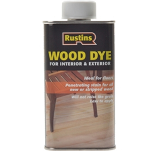 Wood Dye Brown Mahogany 1 litre