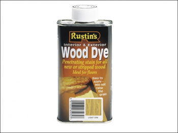 Wood Dye Light Teak 250ml
