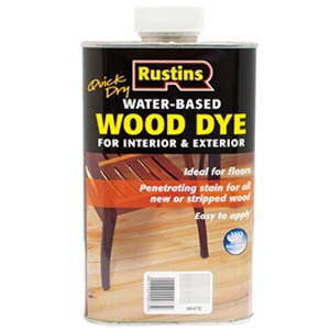 Quick Dry White Wood Dye 250ml