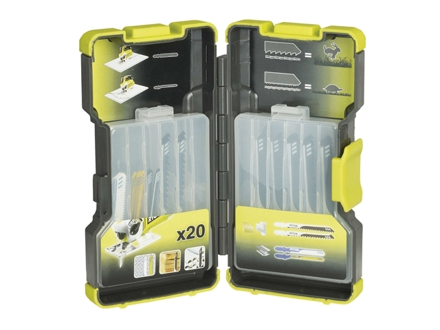 RAK-20JB Jigsaw Blade Set 20 Piece