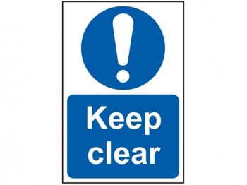 Keep Clear - PVC 200 x 300mm