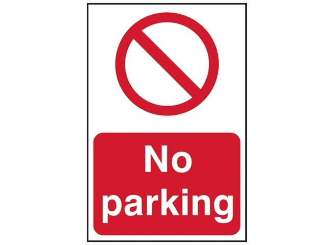 No Parking - PVC 200 x 300mm