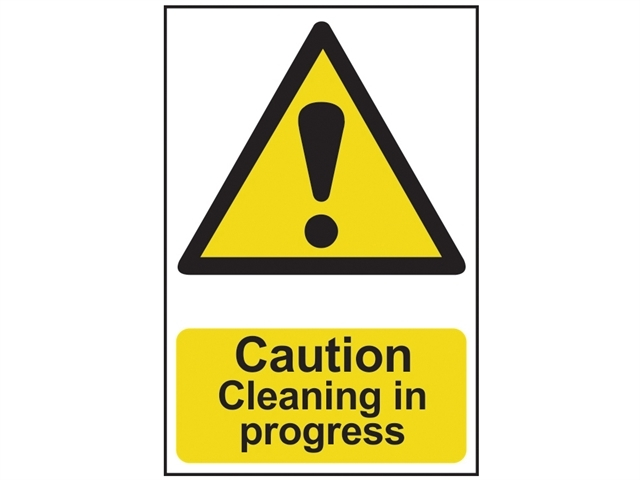 Caution Cleaning In Progress - PVC 200 x 300mm
