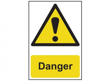 Danger - PVC 200 x 300mm