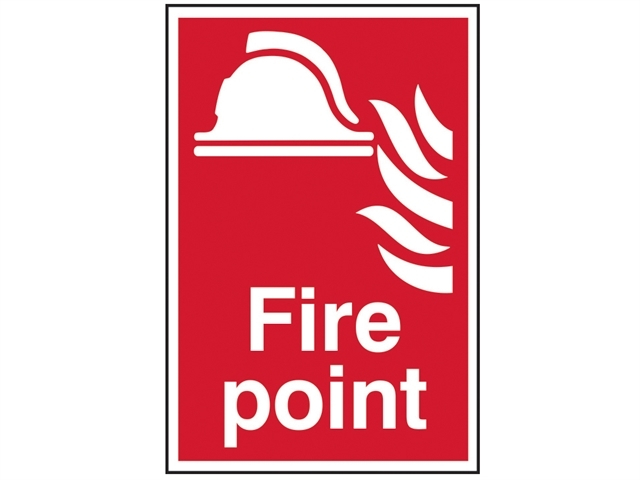 Fire Point - PVC 200 x 300mm