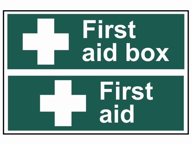 First Aid Box / First Aid - PVC 300 x 200mm