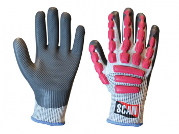 Anti-Impact Latex Cut 5 Gloves - L (Size 9)