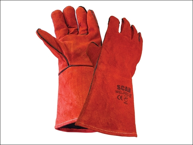 Welder's Gauntlet - Red