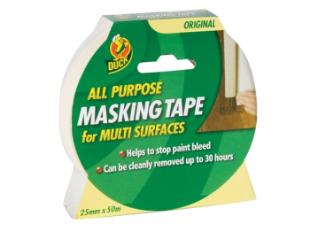 Duck Tape All-Purpose Masking Tape 25mm x 50m