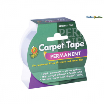 Duck TapePermanent Carpet Tap e 50mm x 10m