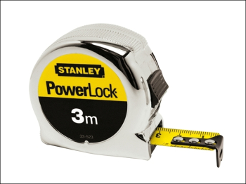 PowerLock Classic Pocket Tape 3m (Width 19mm) (Metric only)