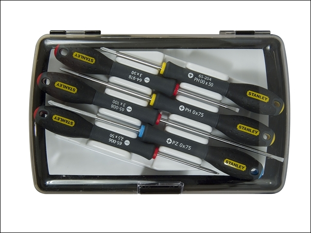 FatMax Precision Screwdriver Set of 6 SL/PH/PZ
