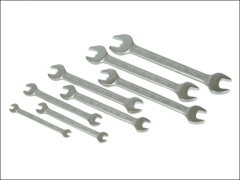 Open End Spanner Set of 8 Piece Set Metric 6 to 21mm