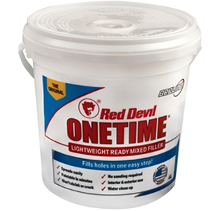 Red Devil Onetime Filler 4 Litre