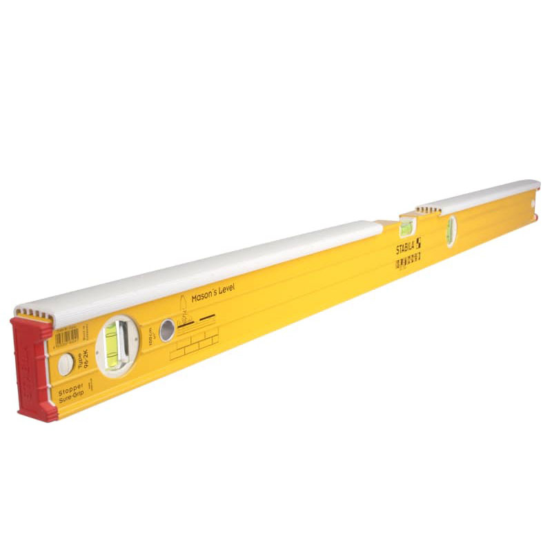 96-2-K Double Plumb Masons Spirit Level 3 Vial 16403 80cm