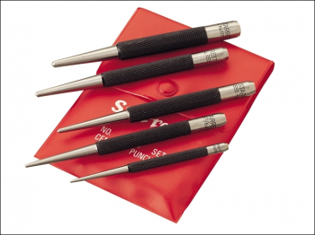 S117PC Centre Punch Set, 5 Piece