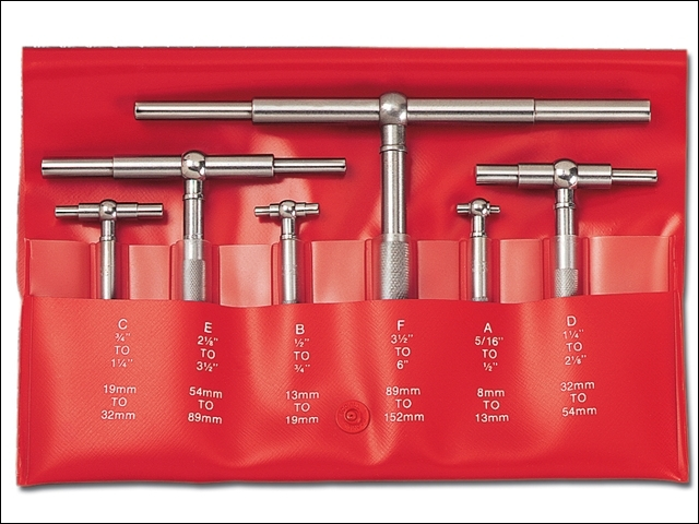 S579GZ Telescopic Gauge Set 4 Piece 8-54mm