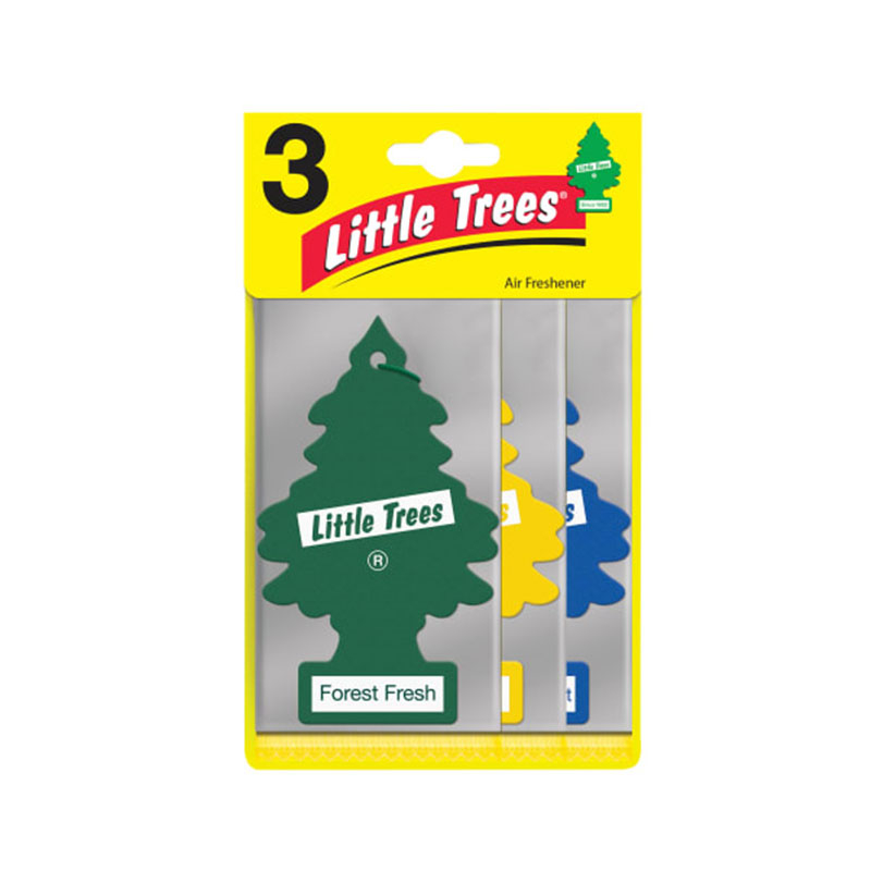 LITTLE TREES Air Freshener 3 Assorted Fragrances