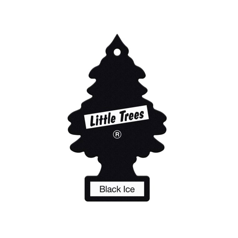 LITTLE TREES Air Freshener Bl ack Ice