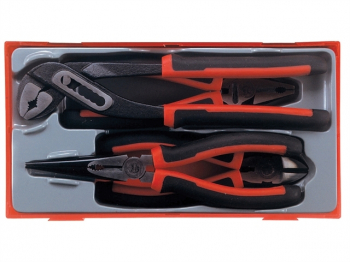 TT440T Mega Bite Pliers Set, 4 Piece