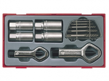 TTSN11 Stud & Nut Remover Set, 11 Piece