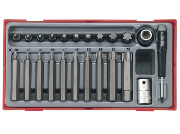 TTTX23 TX Bit Socket Set, 23 Piece - 1/2in Drive
