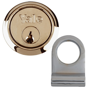 Y2600 Tubular Latch Essentials Polished Brass 79mm 3in Visi