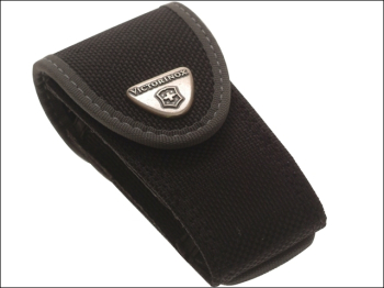 Black Fabric Belt Pouch 2-4 Layer