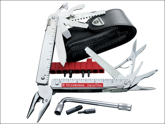 SwissTool CS Plus with Corkscrew 30338L
