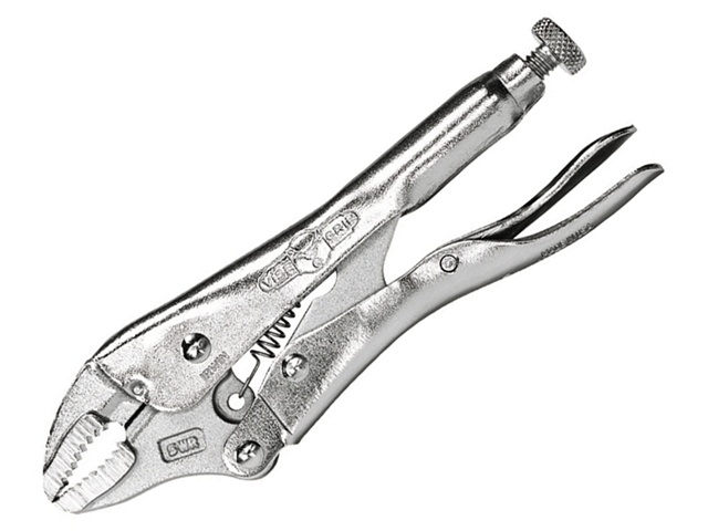 5WRC Curved Jaw Locking Pliers with Wire Cutter 127mm (5in)