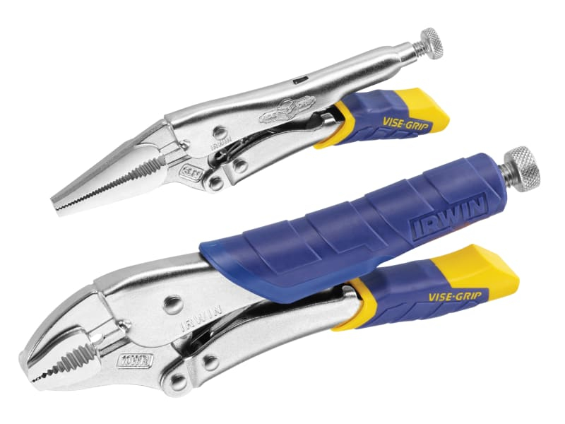 Fast Release Locking Pliers S et of 2 6LN & 10RW