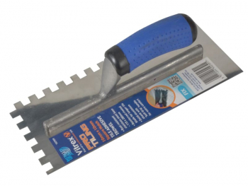 Professional Notched Adhesive Trowel 4mm Stainless Steel 11