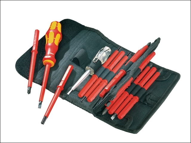 Kraftform VDE Kompakt Intercha ngeable Screwdriver Set of 16