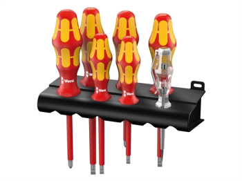 Kraftform Plus VDE Series 100 Screwdriver Set of 7 SL/PZ