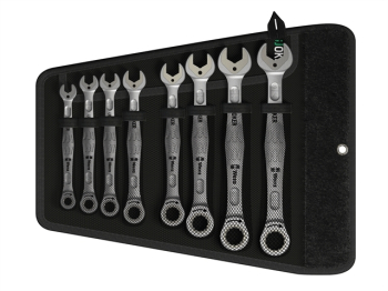 Joker Ratcheting Combination Spanner Set, 8 Piece