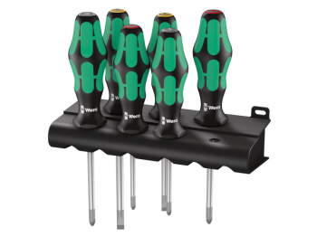 Kraftform Plus Lasertip 335/35 0/355/6 Screwdriver Set, 6 Pie