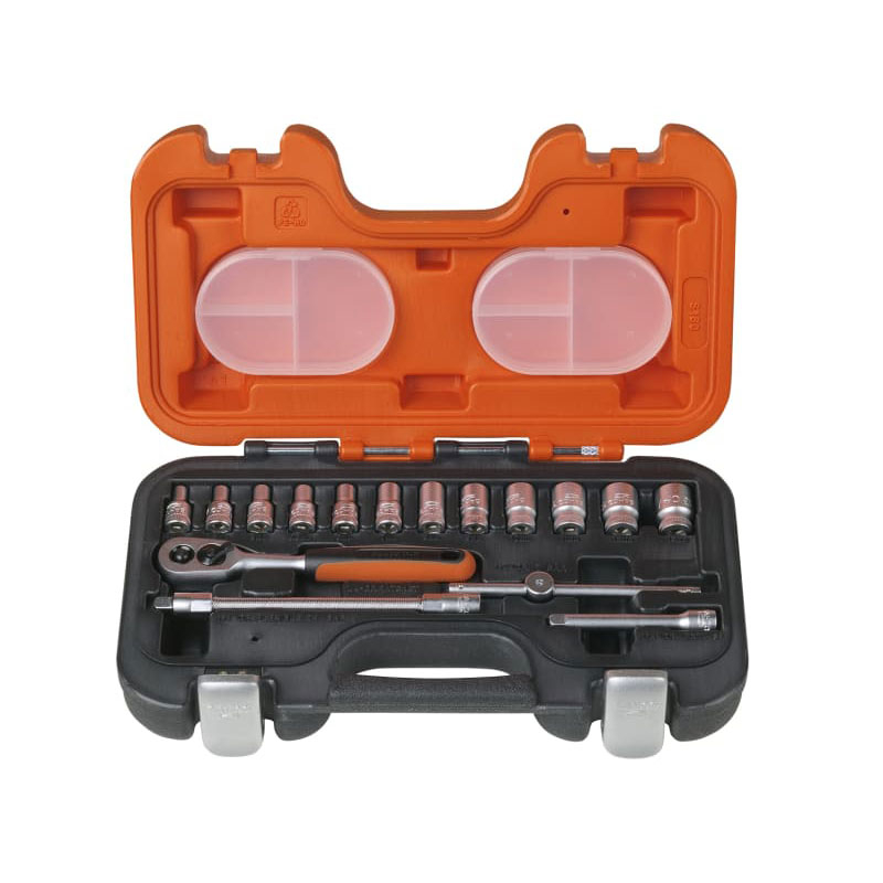 BAHCO XMS18 SSET14 Socket set 1/4in 16pc