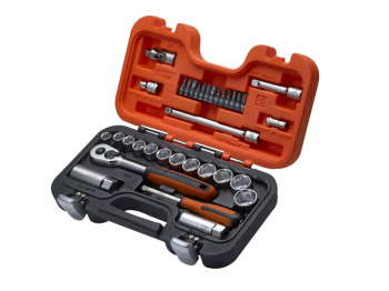 XMS1938SS Bahco S330 3/8inchSocket Set & 1/4inchBits 34pc
