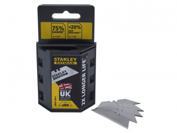 STANLEY XMS19 BLADE80 80 utility knife blades