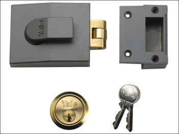 81 Rollerbolt Nightlatch 60mm Backset DMG Finish Box