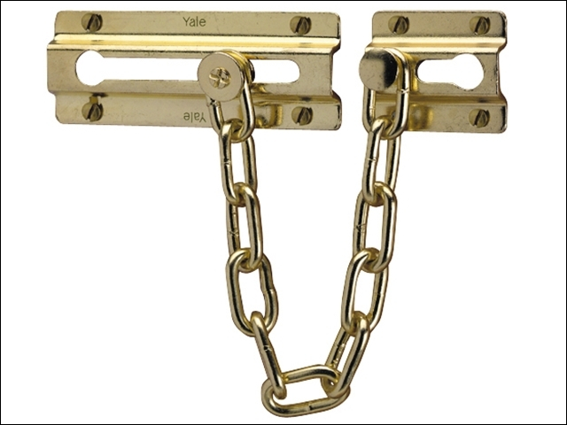 P1037 Door Chain Brass Finish